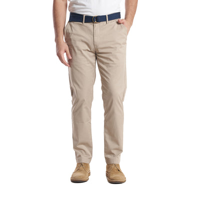 Lightweight Stretch Chinos Standard Fit - Khaki