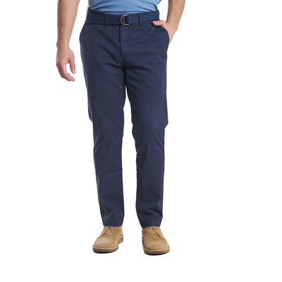 Lightweight Stretch Chinos Standard Fit - Navy