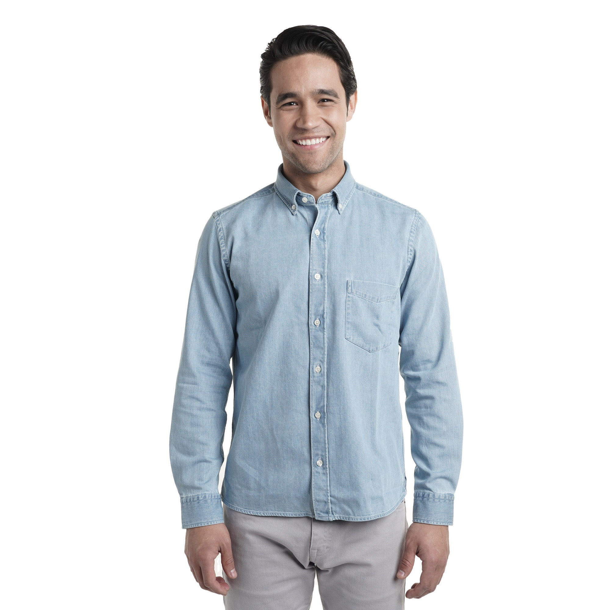 Denim Shirts - Light Wash