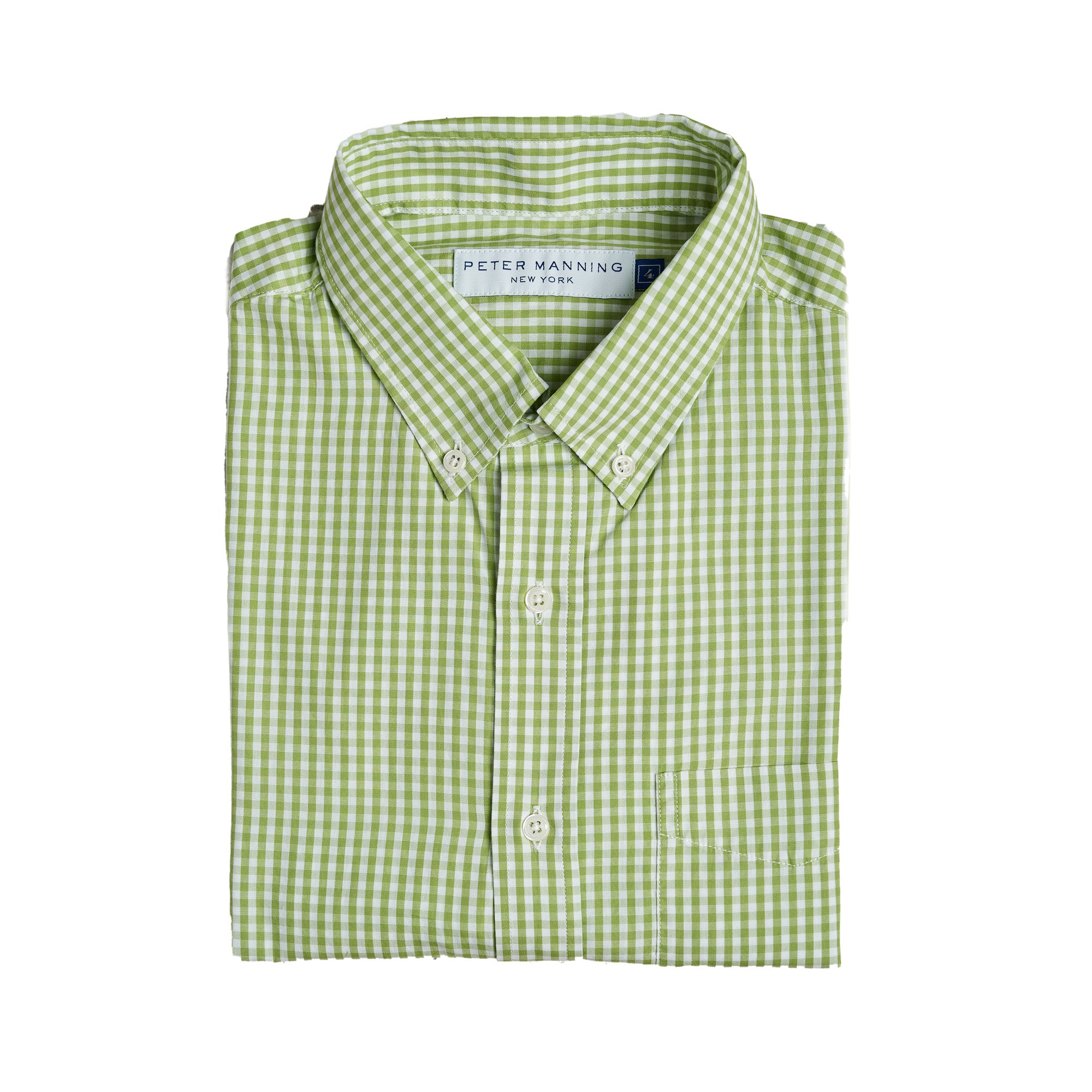 Everyday Shirts Standard Fit - Light Green Gingham