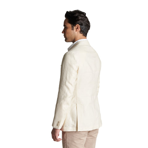 Unstructured Linen Jackets - Stone