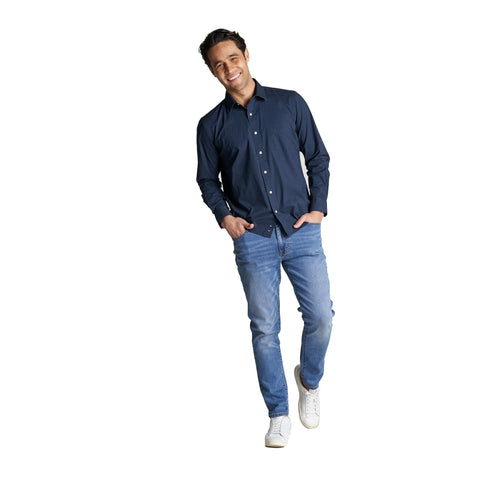 Everyday Stretch Shirts - Navy