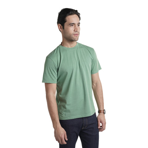 Vintage Crew T-Shirt - Army Green