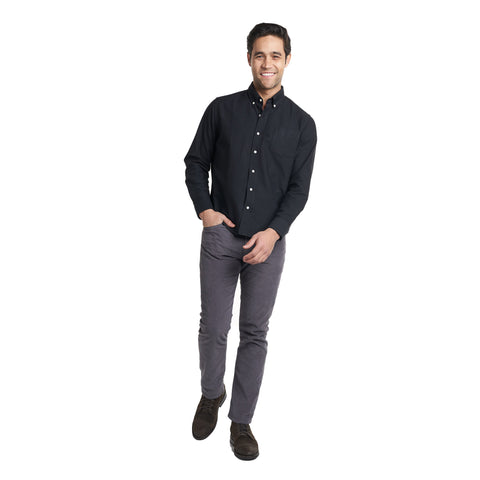 Weekend Oxford Standard Fit - Black