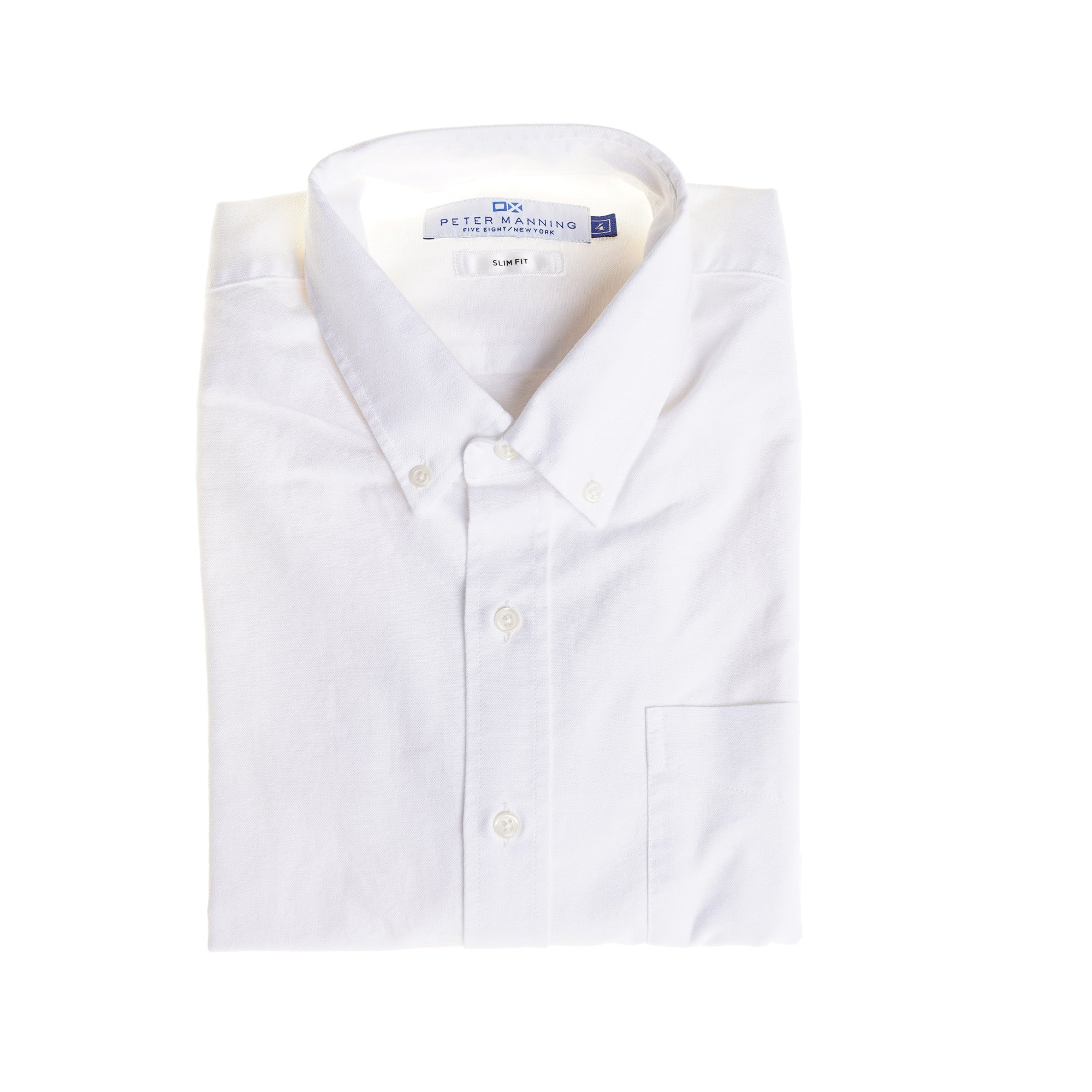 Weekend Oxford Slim Fit - White