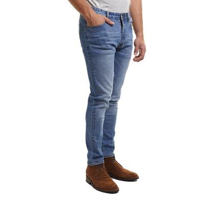 Johnny Stretch Jeans Slim Fit - Medium Wash