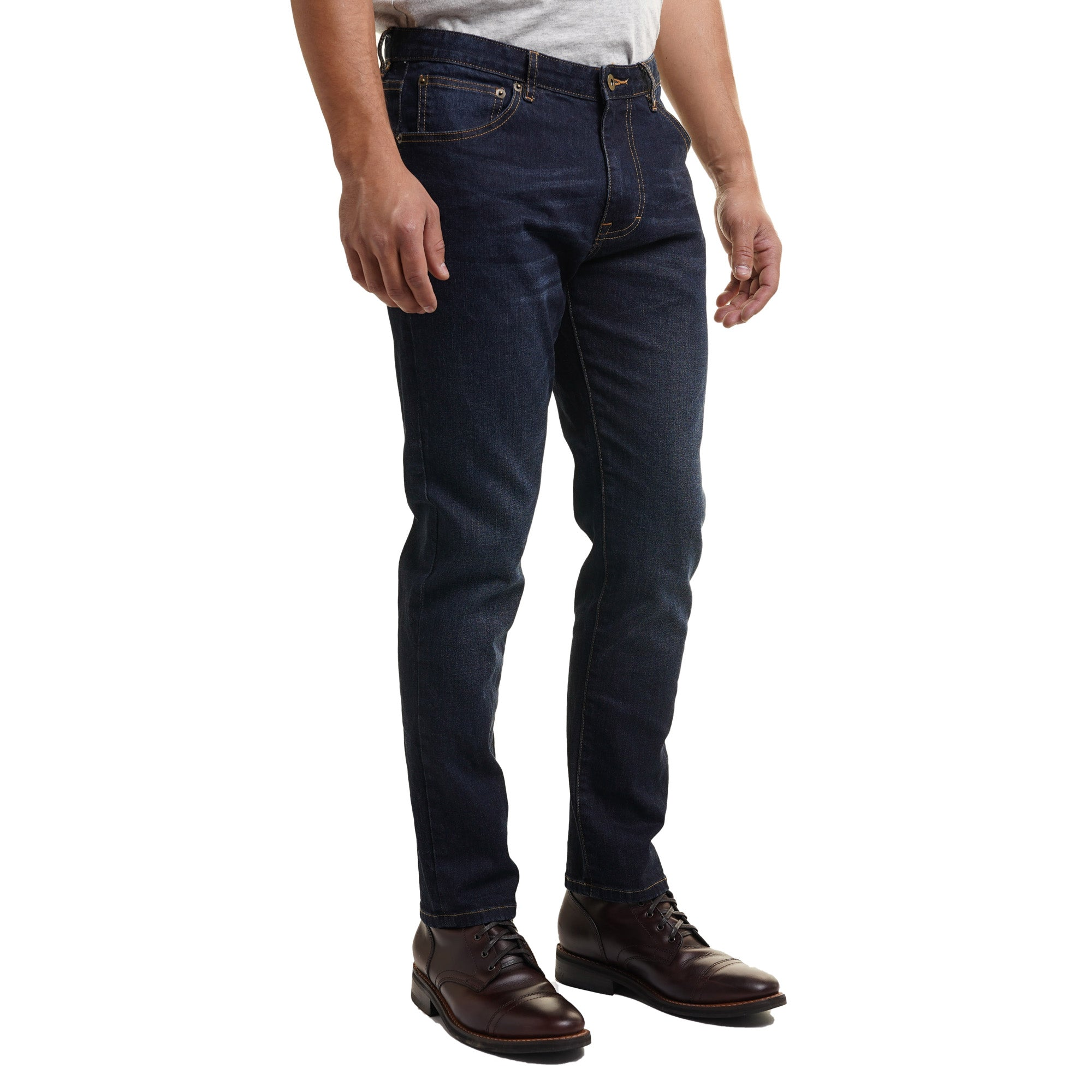Johnny Stretch Jeans Slim Fit - Dark Rinse