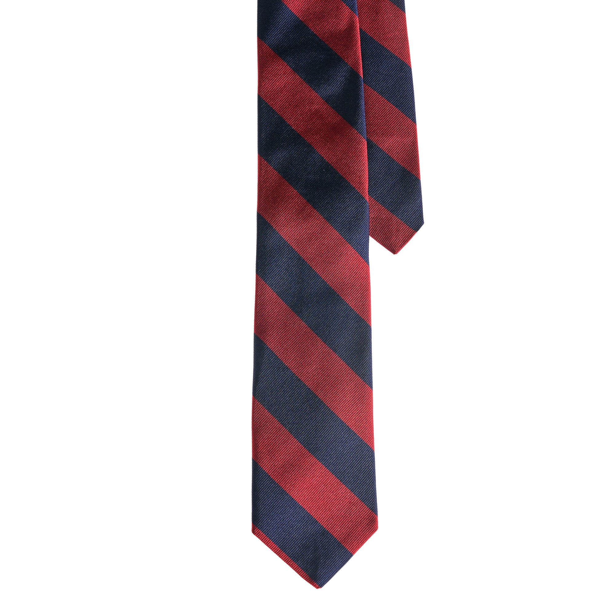 Ties - Navy Red Stripe