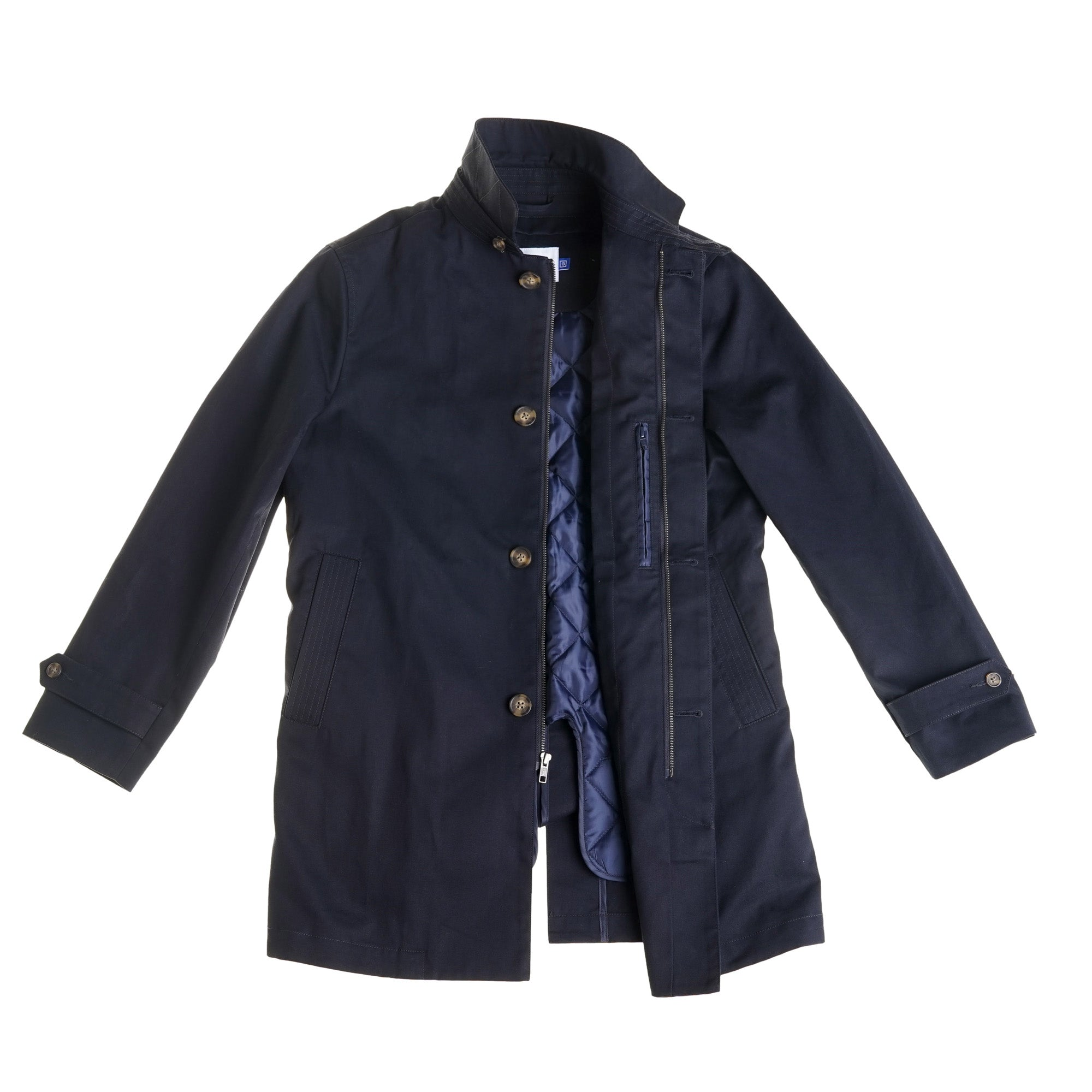Carnegie Raincoat - Navy