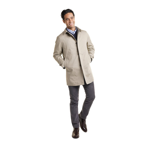 Carnegie Raincoat - Tan