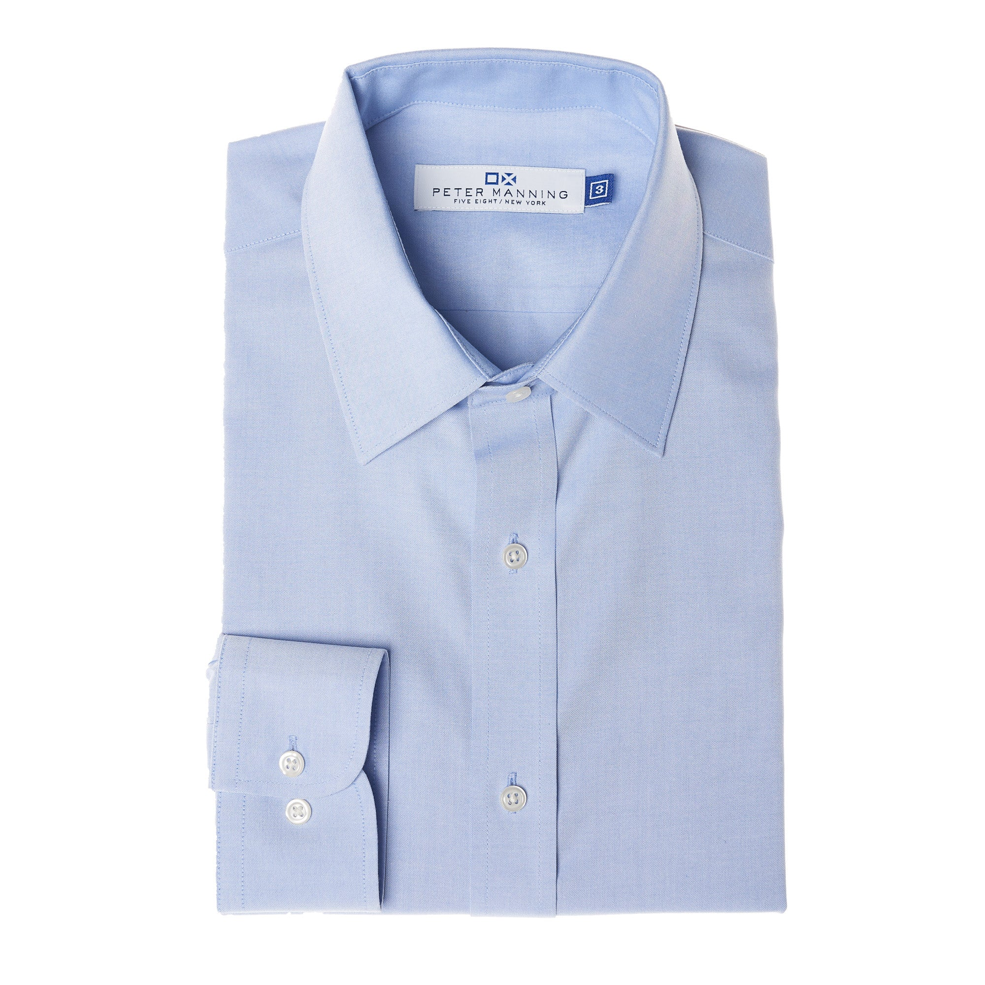 c7d195971 Non Iron Dress Shirt - Blue – Peter Manning NYC