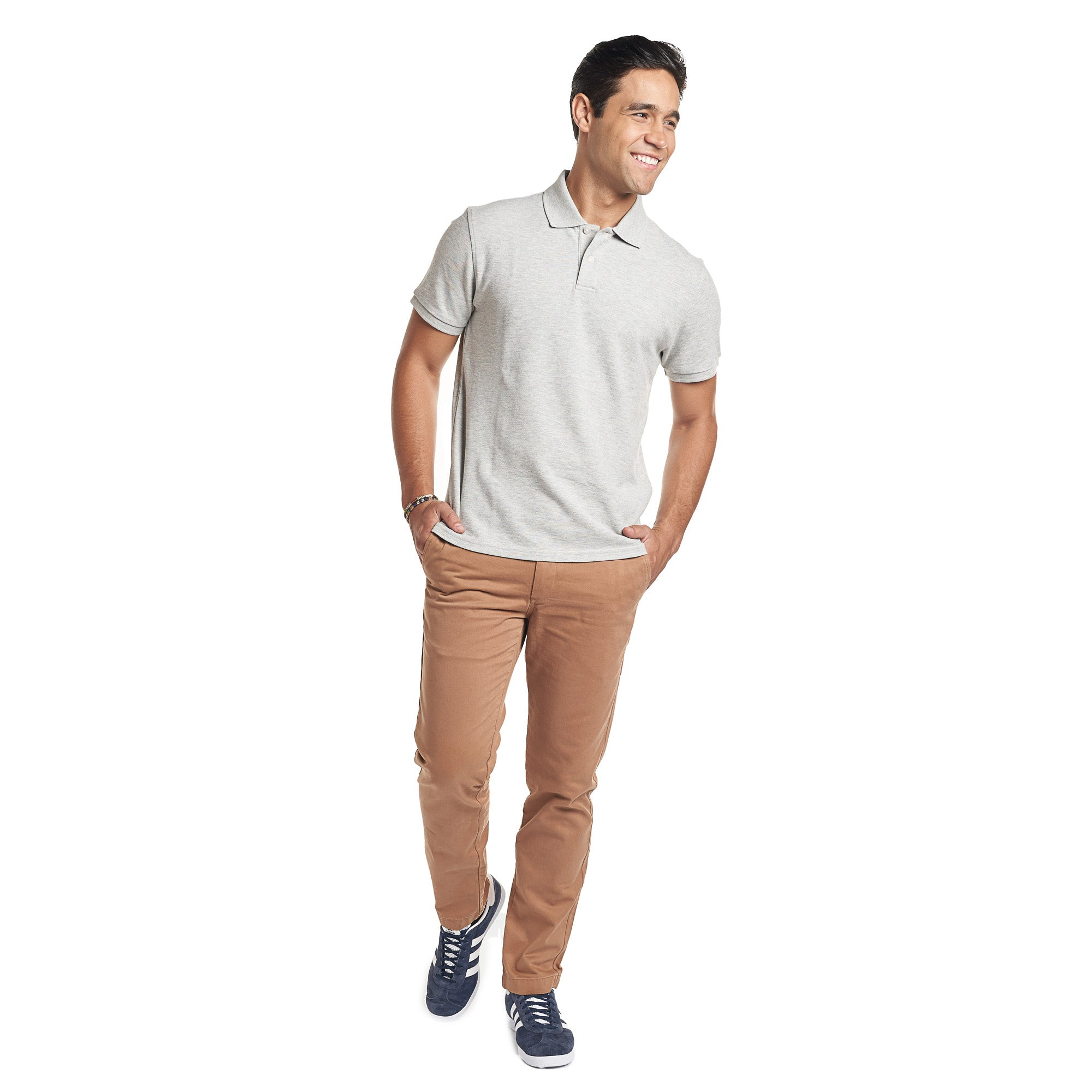 Slim Fit Chinos - Tobacco
