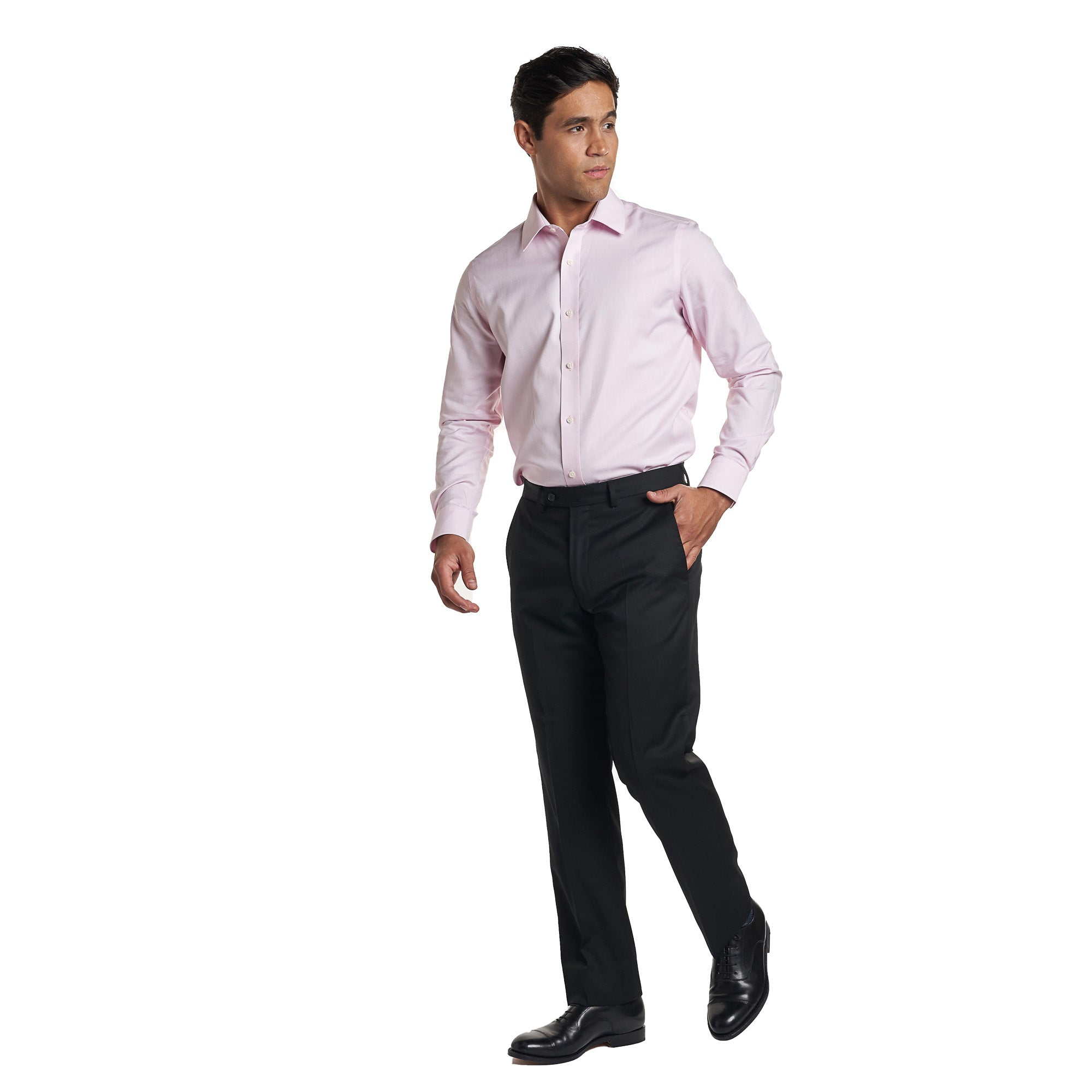 Non Iron Dress Shirt - Pink
