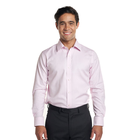 Non Iron Dress Shirt Standard Fit - Pink
