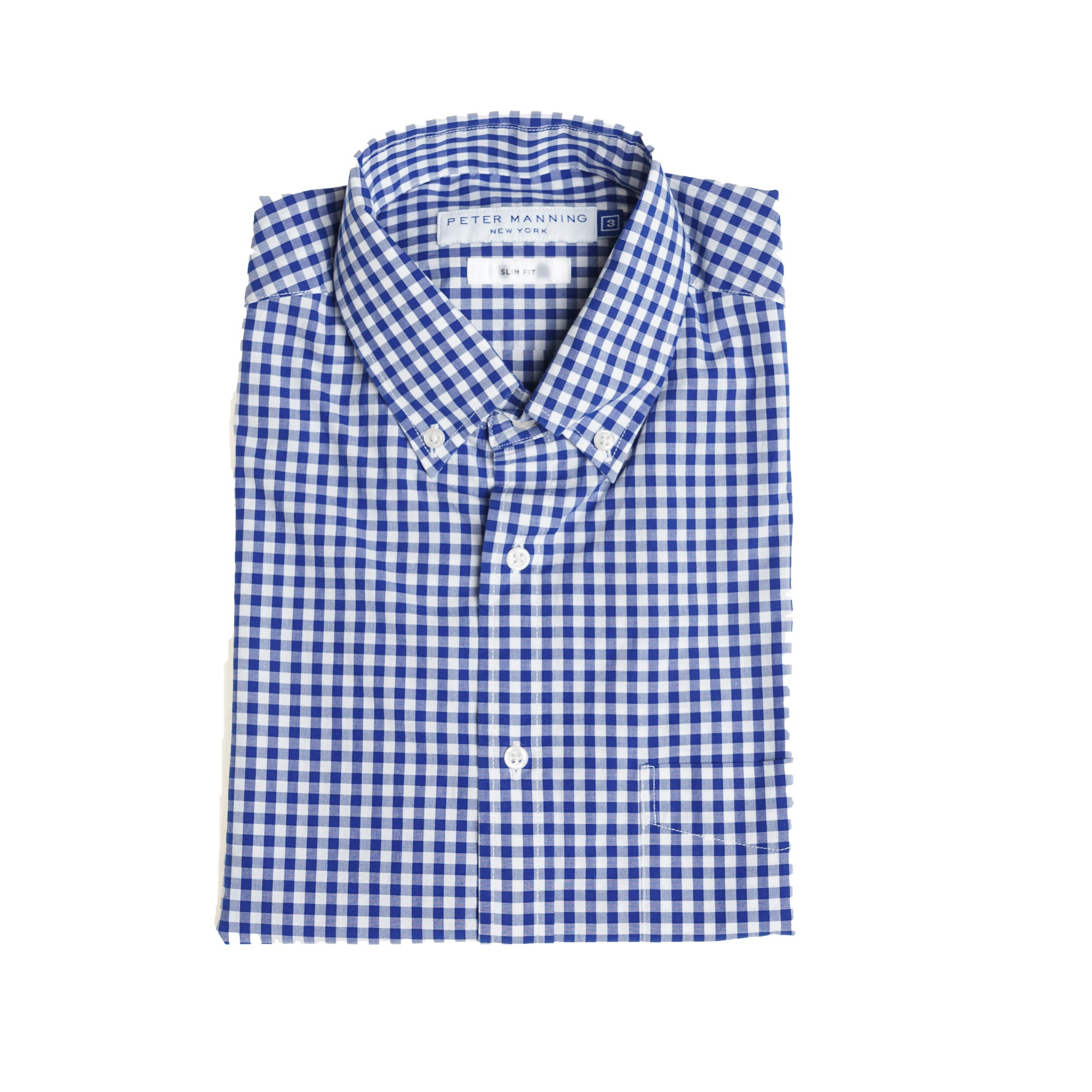 Everyday Shirts Slim Fit - Navy Gingham
