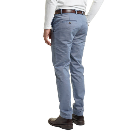 Standard (Classic) Fit Chinos - Slate Blue