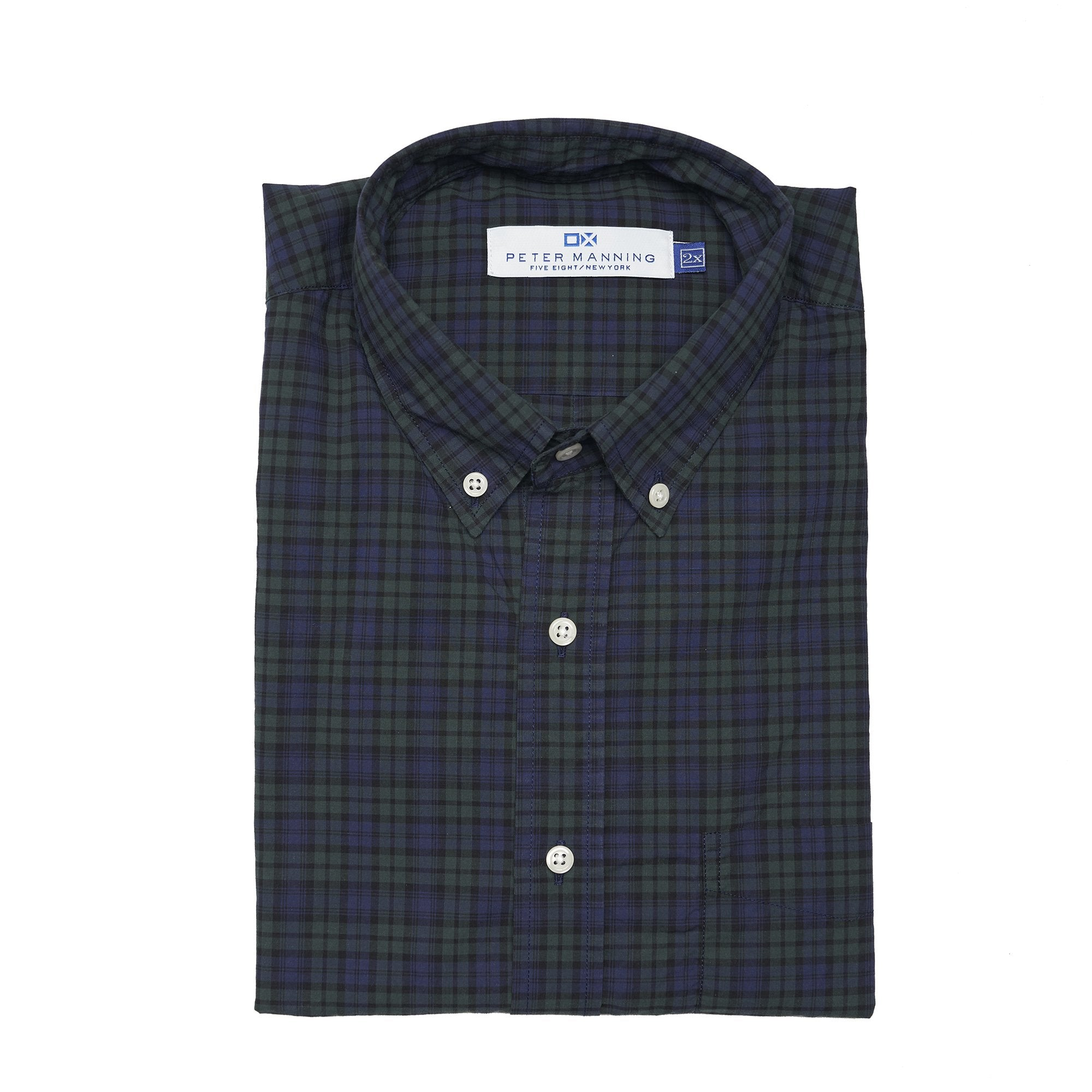 Everyday Oxford - Black Watch Plaid