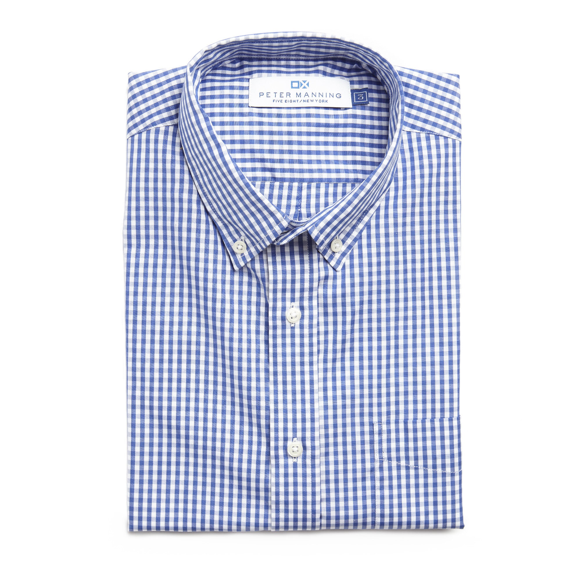 Everyday Shirt - Navy Gingham