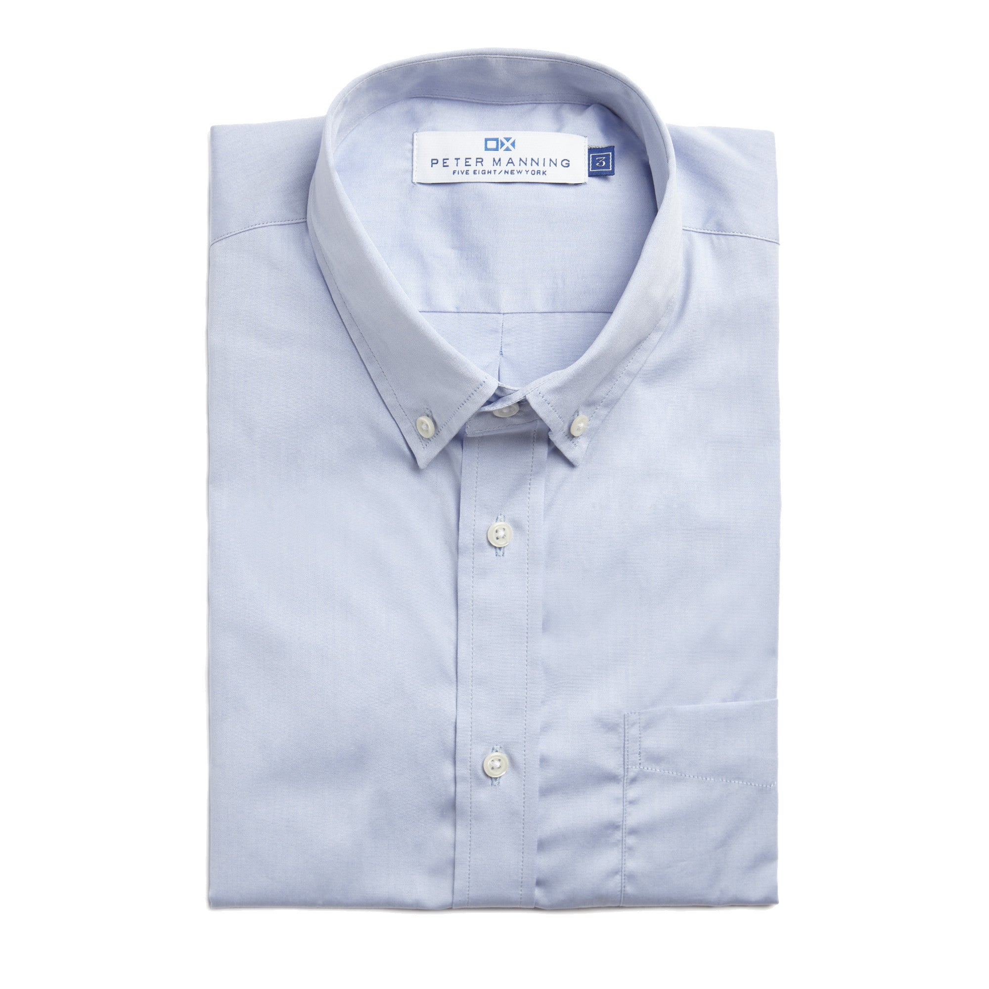 b0d5ad12a Everyday Shirt - Blue – Peter Manning NYC