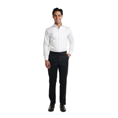 Tuxedo Shirt Slim Fit - White