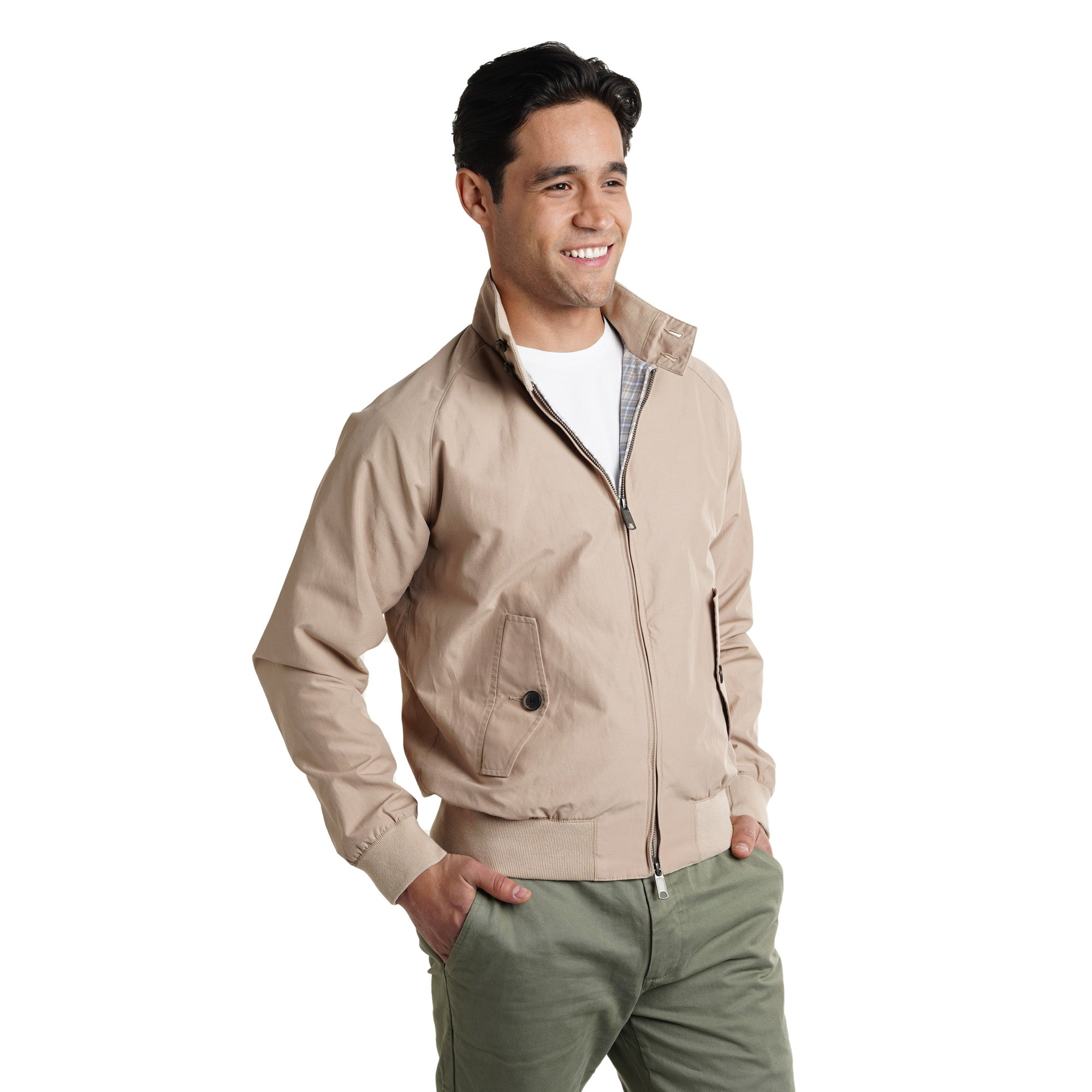 c00bcaca1 Harrington Jacket - Tan
