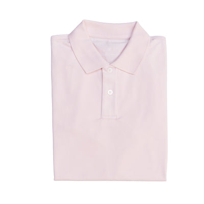 James Polo Shirt - Pale Pink