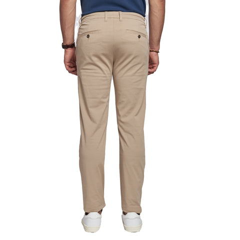 Lightweight Stretch Chinos - Khaki