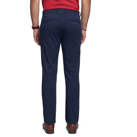 Lightweight Stretch Chinos - Navy