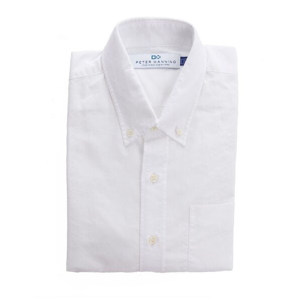 Weekend Oxford Standard Fit - White