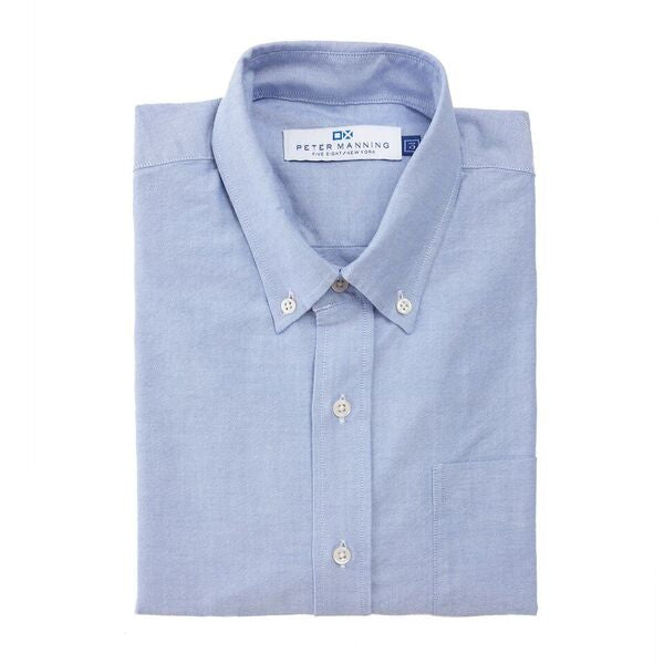 Weekend Oxford Standard Fit - Blue