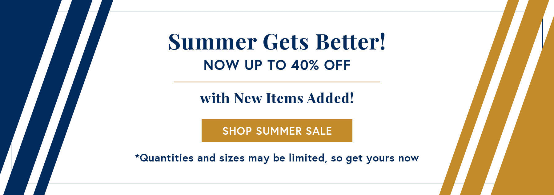 Beat the Heat Summer Sale - Up to 50% off