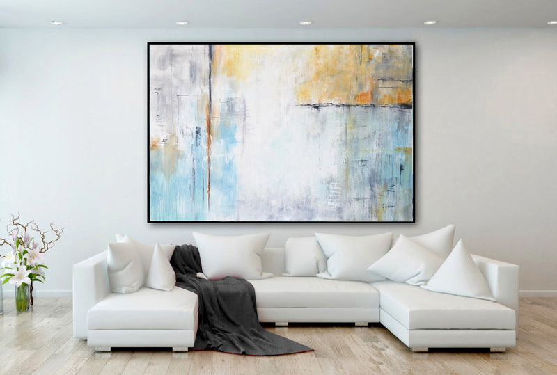 XXL wallart abstract painting interior design gallery