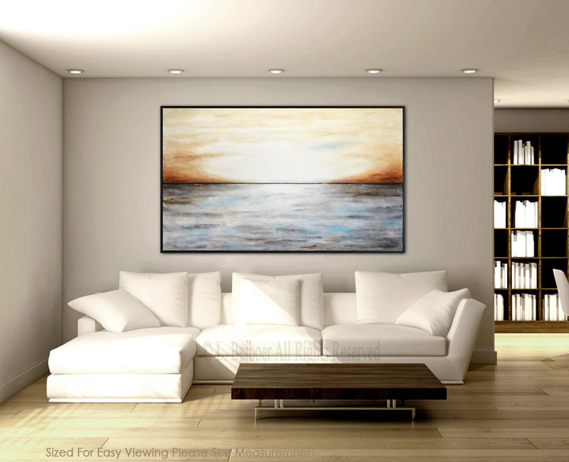 landscape abstract artwork