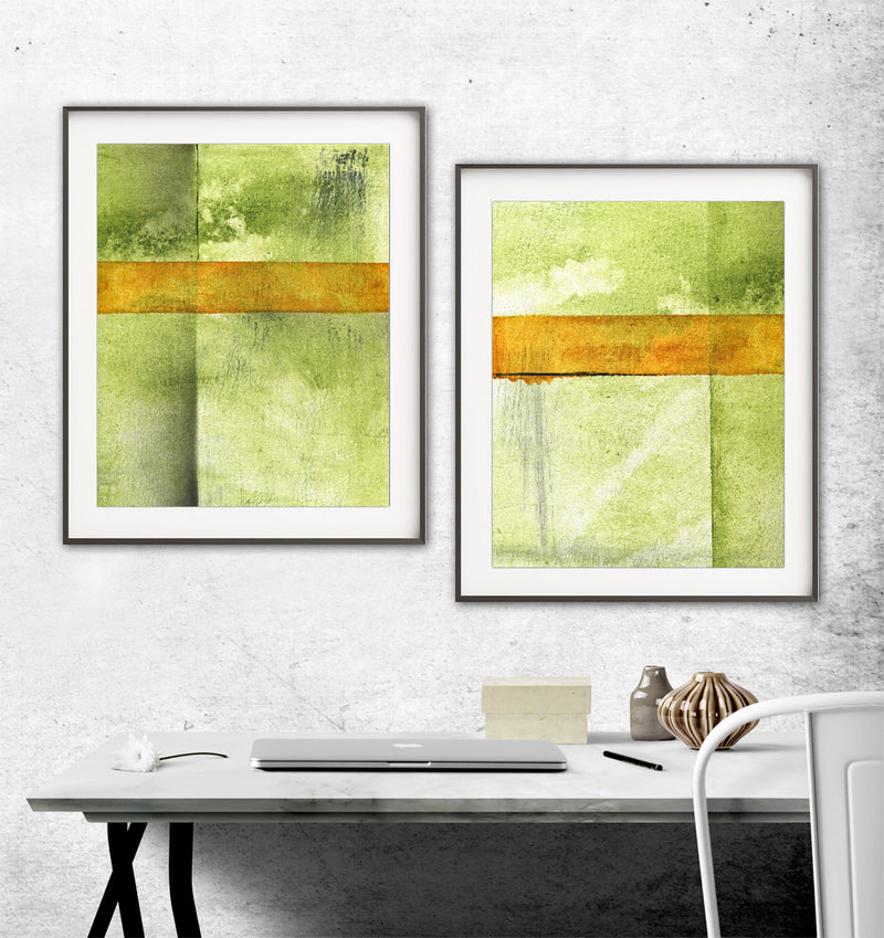 instant green digital prints