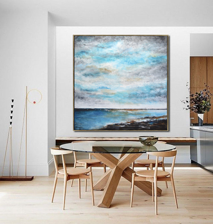 48x48 ready to hang artwork landscape wall art