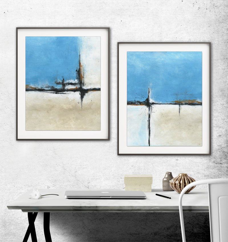 instant digital download prints set of 2 diptych