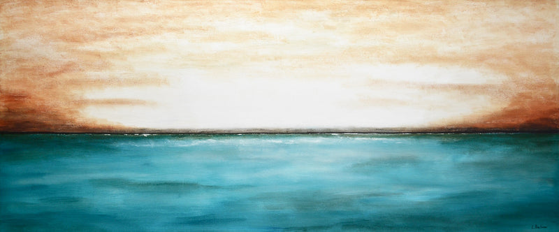 beiboer paintings landscape ocean horizon art work interior design