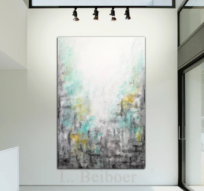 """Shadows"" Large original abstract painting"