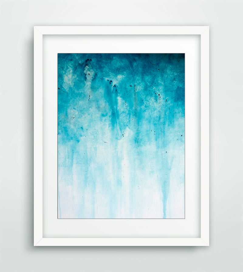 printable digital download blue