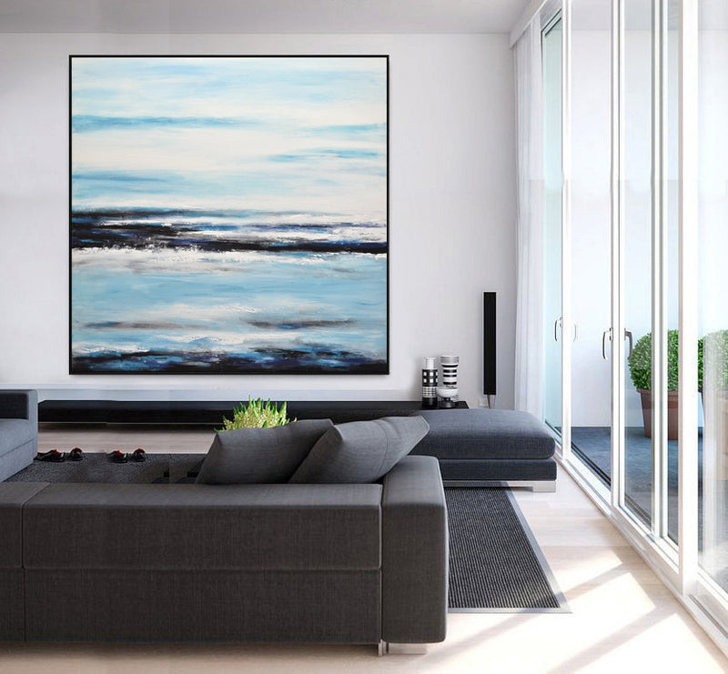 navy artwork large landscape