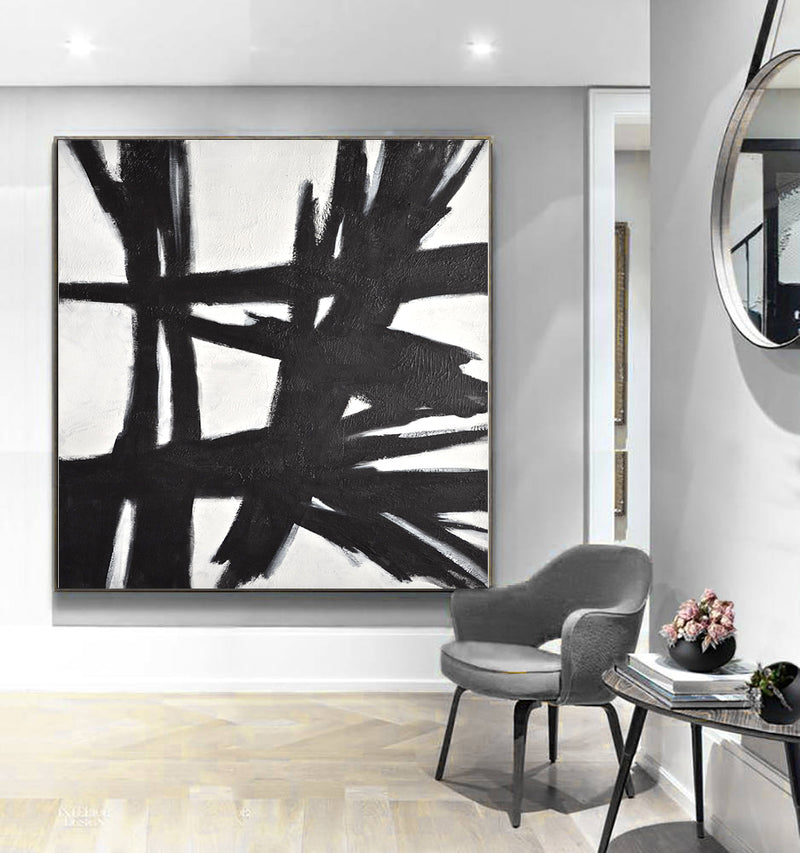 interior design painting franz kline loft artwork