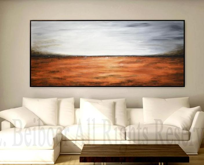 large panoramic painting