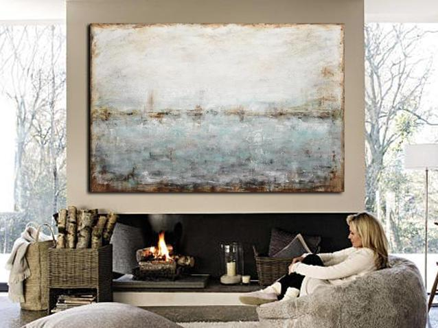 large landscape horizon wall art