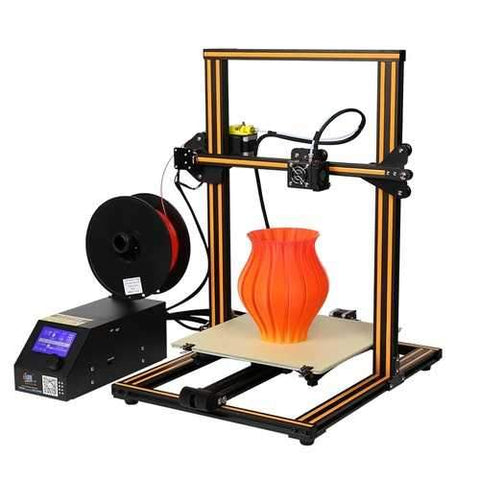 Creality 3D?® CR-10 DIY 3D Printer Kit 300*300*400mm Printing Size 1.75mm 0.4mm Nozzle
