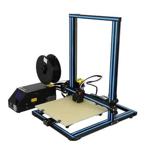 Creality 3D?® CR-10S DIY 3D Printer Kit 300*300*400mm Printing Size With Z-axis Dual T Screw Rod Motor Filament Detector 1.75mm 0.4mm Nozzle
