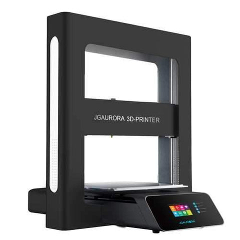 JGAURORA?® A5/A5S Upgraded DIY 3D Printer Kit 305*305*320mm Printing Size Support Power Failure Resume&Filament Run-out Detection with 2.8-inch Colorful Touchscreen