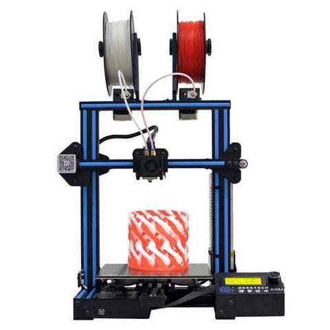 Geeetech?® A10M Mix-color Prusa I3 3D Printer 220*220*260mm Printing Size With Dual Extruder/Filament Detector/Power Resume/3:1 Gear Train/Open Source Control Board