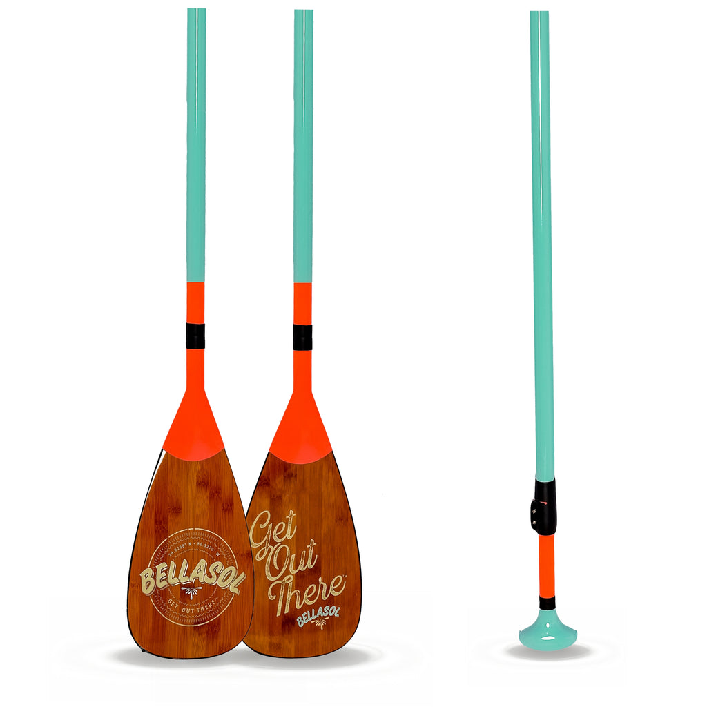 "BELLASOL CARBON FIBER ADJUSTABLE SUP PADDLE ""BAJA"" - Bellasol Boards"