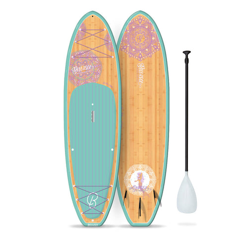 Image of BELLASOL - 10'6 GYPSEA SUP & ALUMINUM ADJUSTABLE PADDLE