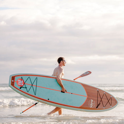 Image of MALAKAI - 10'0 THE CLASSICO SUP & CARBON FIBER PADDLE - Bellasol Boards